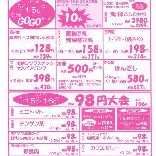 98円大会(2021.5.15~5.16)